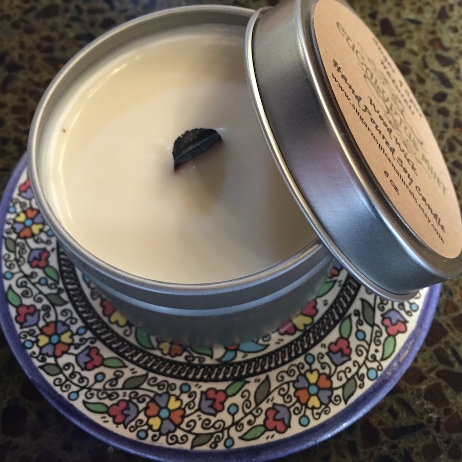Soy candles are a better alternative to traditional paraffin wax.